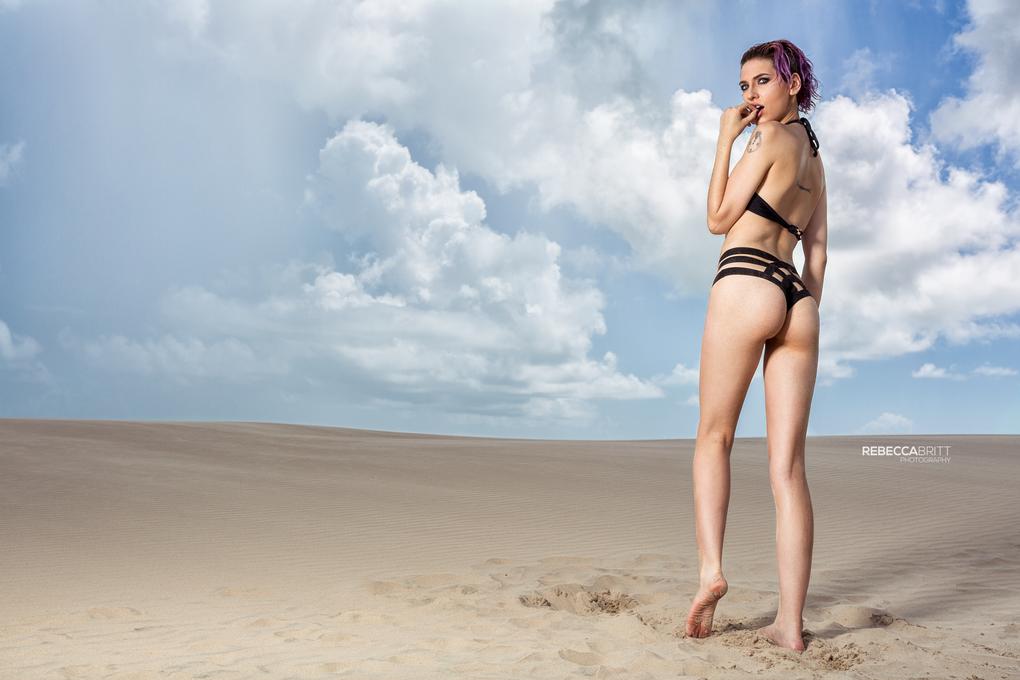 Sara Longoria - Adam & Eve shoot by Rebecca Britt
