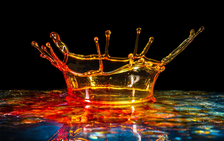 Water Crown by Stuart Willson