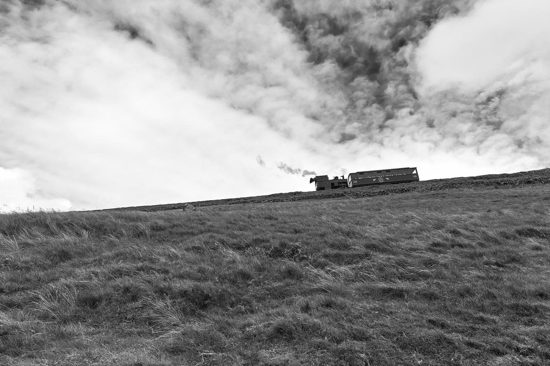 Snowdonia Steam Train by Ben Beer
