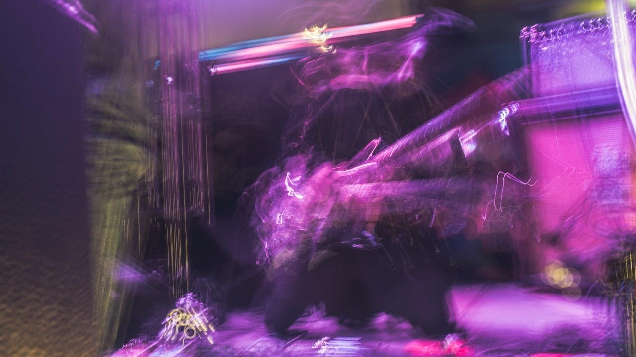 Light Abstraction 6 - Silohuette of the Nude (band from Japan)) by Dave Terry