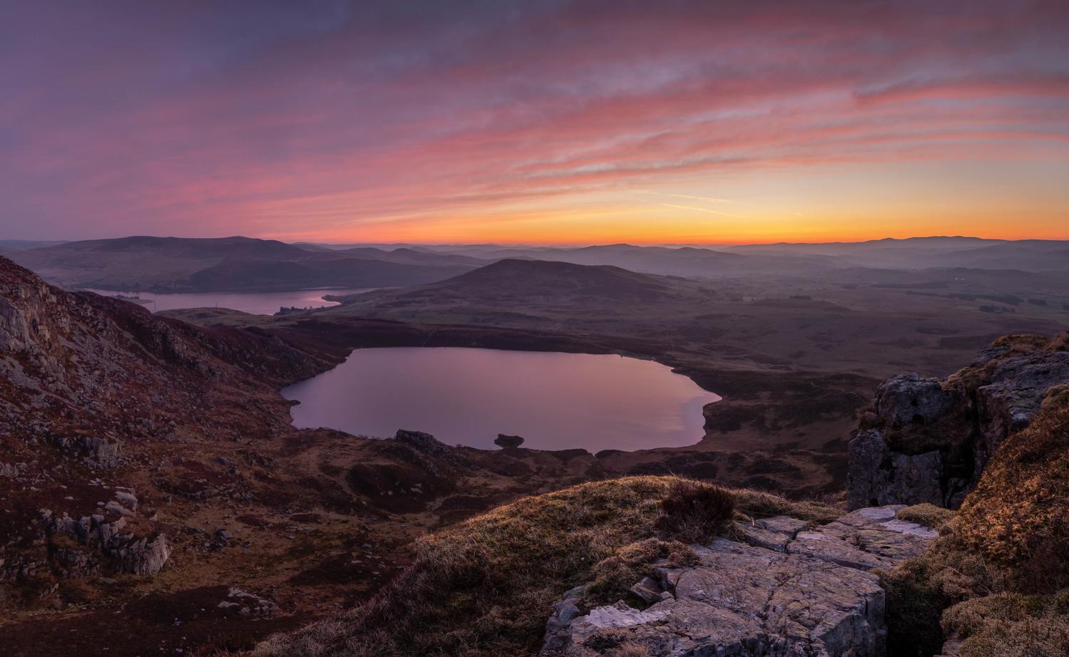 Arenig Fawr Sunrise by Luke Gage