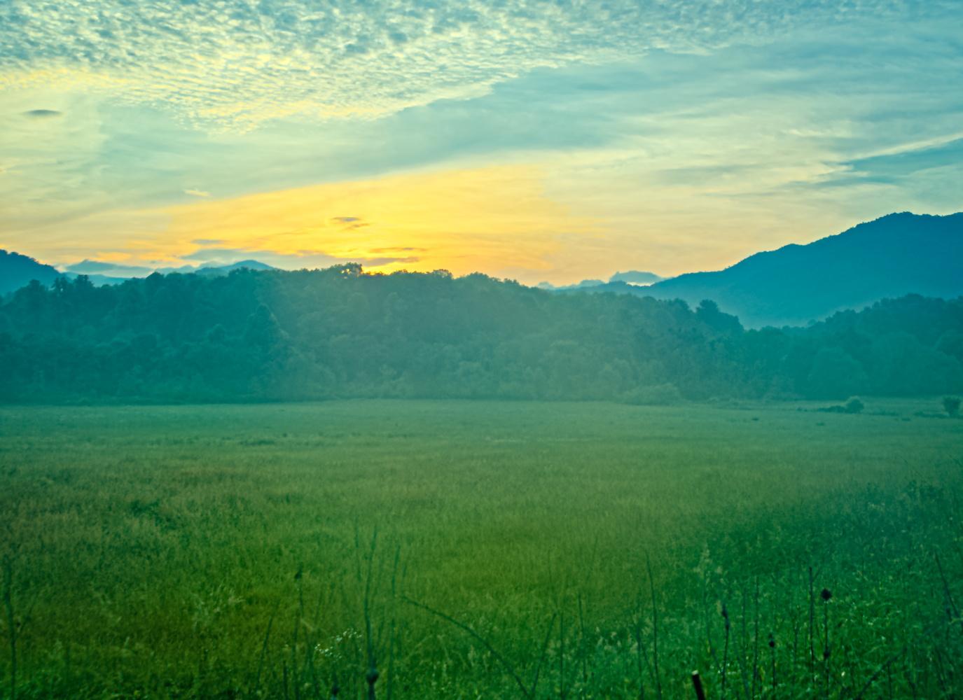 Blue Ridge Sunrise by Adam Morton