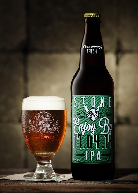Enjoy By 07.04.14 - Stone Brewing Co. by Ramiro Silva
