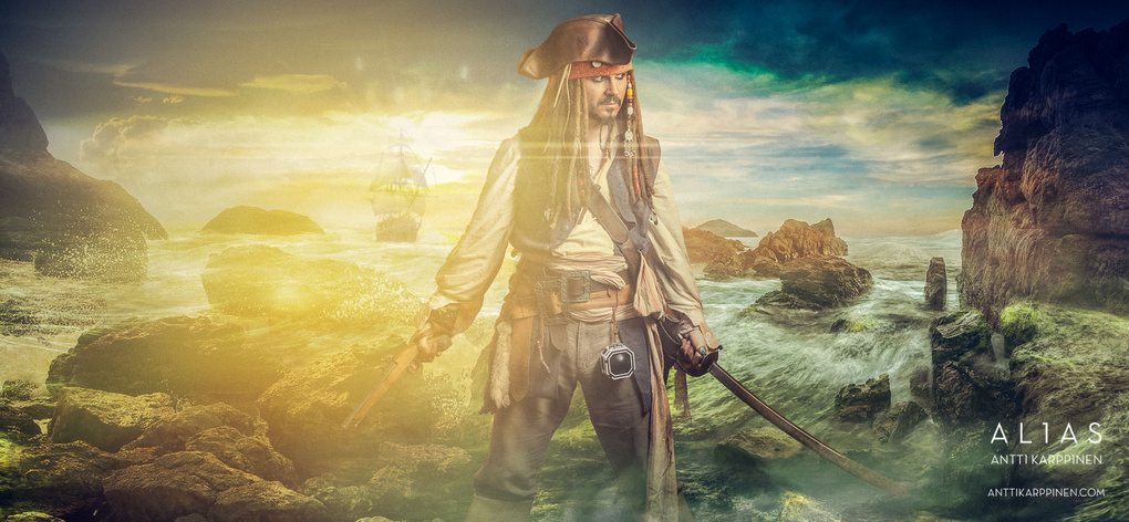 Jack Sparrow by antti karppinen