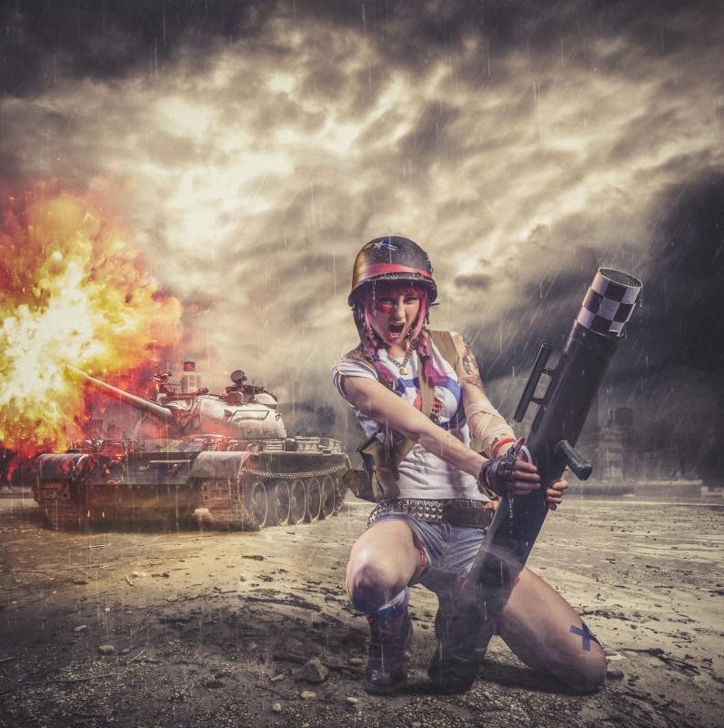 Tankgirl by antti karppinen