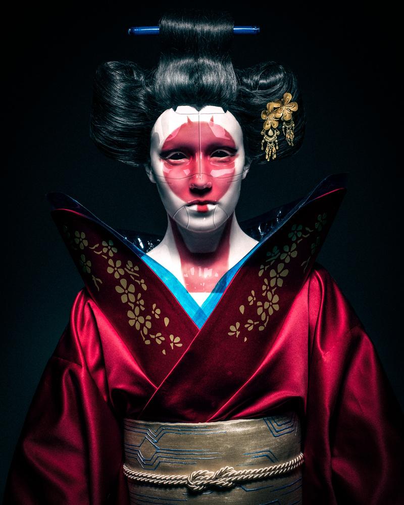 Robot geisha by antti karppinen