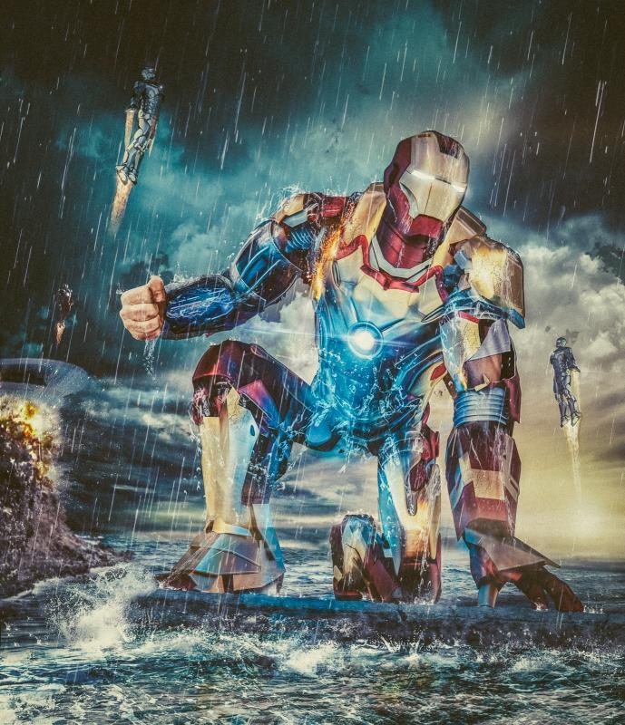 Iron Man by antti karppinen