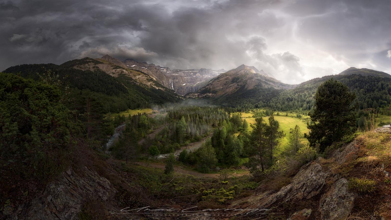 Summer storm by Unai Larraya