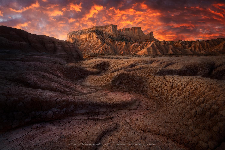 Erosion formations by Unai Larraya