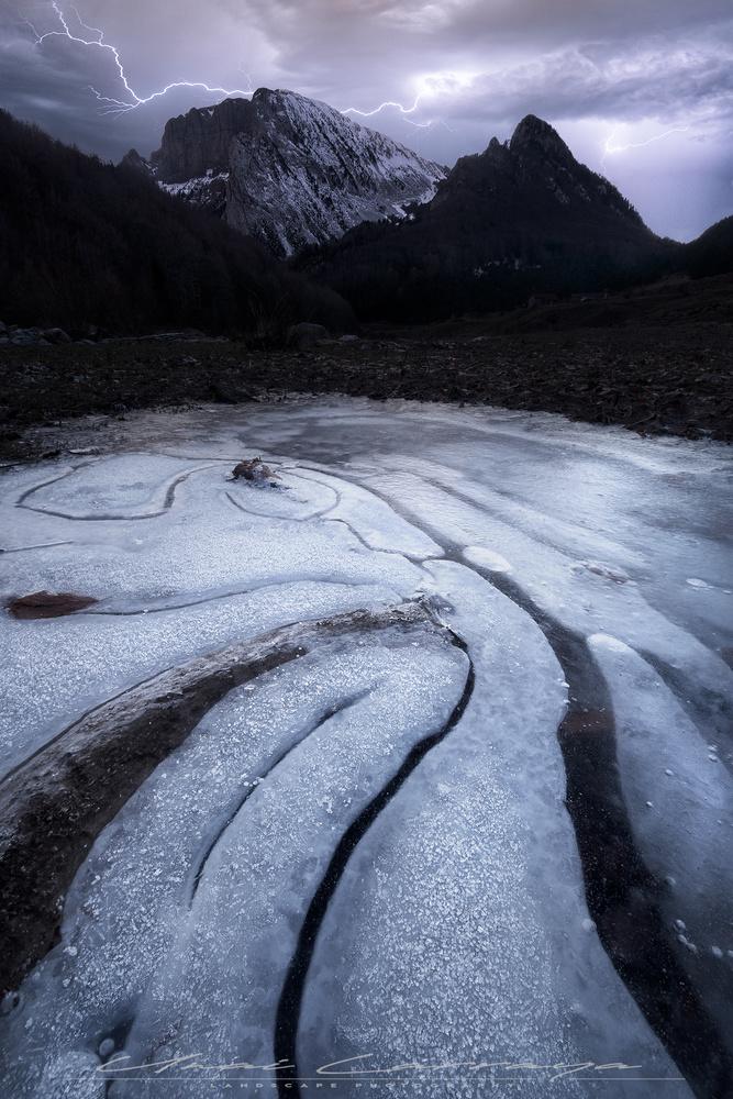 Winter blizzard by Unai Larraya