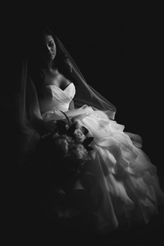 Serene Bride by David Walters