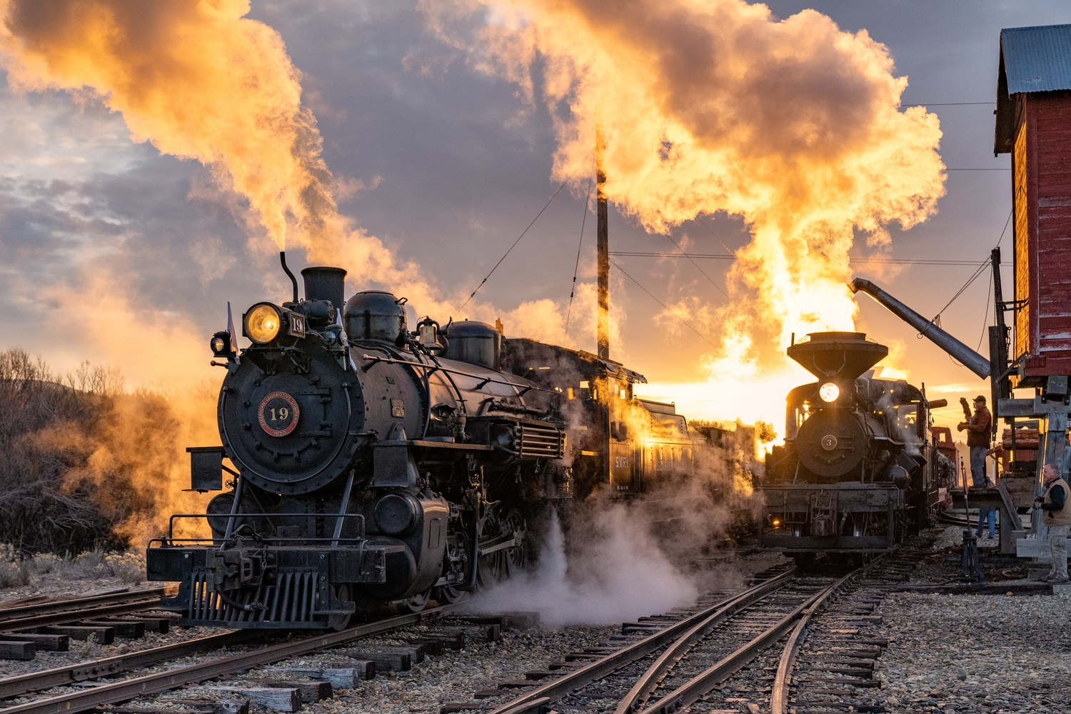the ol' union pacific by Wasim Muklashy