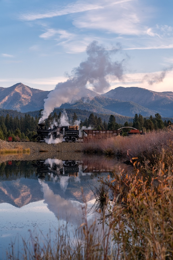 reflecting on the ol' union pacific by Wasim Muklashy