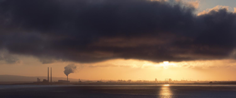 Dublin Bay From Howth by Owen Behan