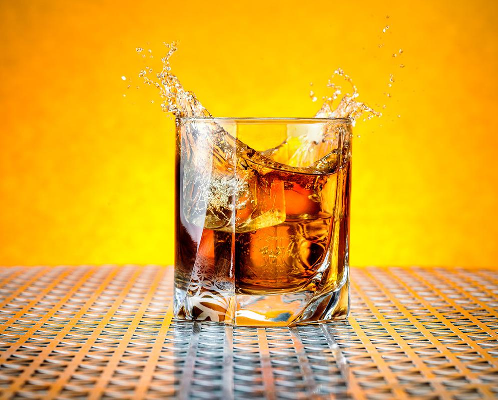 Whiskey Splash by Tommy Feisel