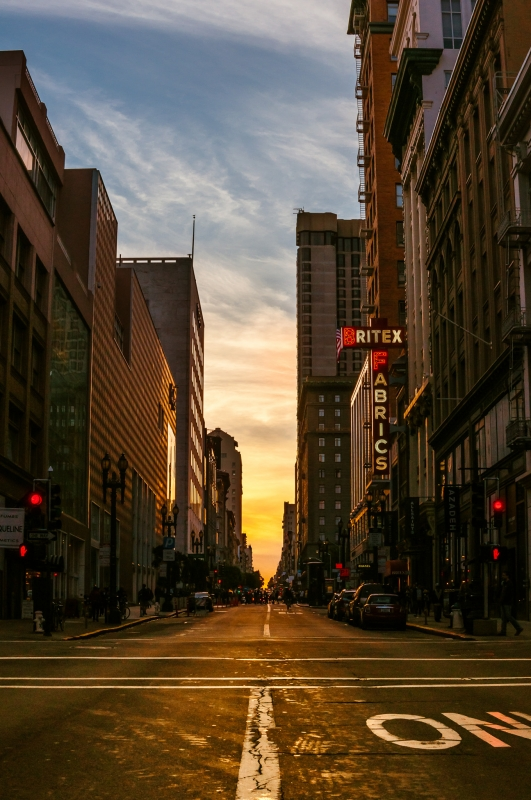 Streets of San Francisco by Sven Stork