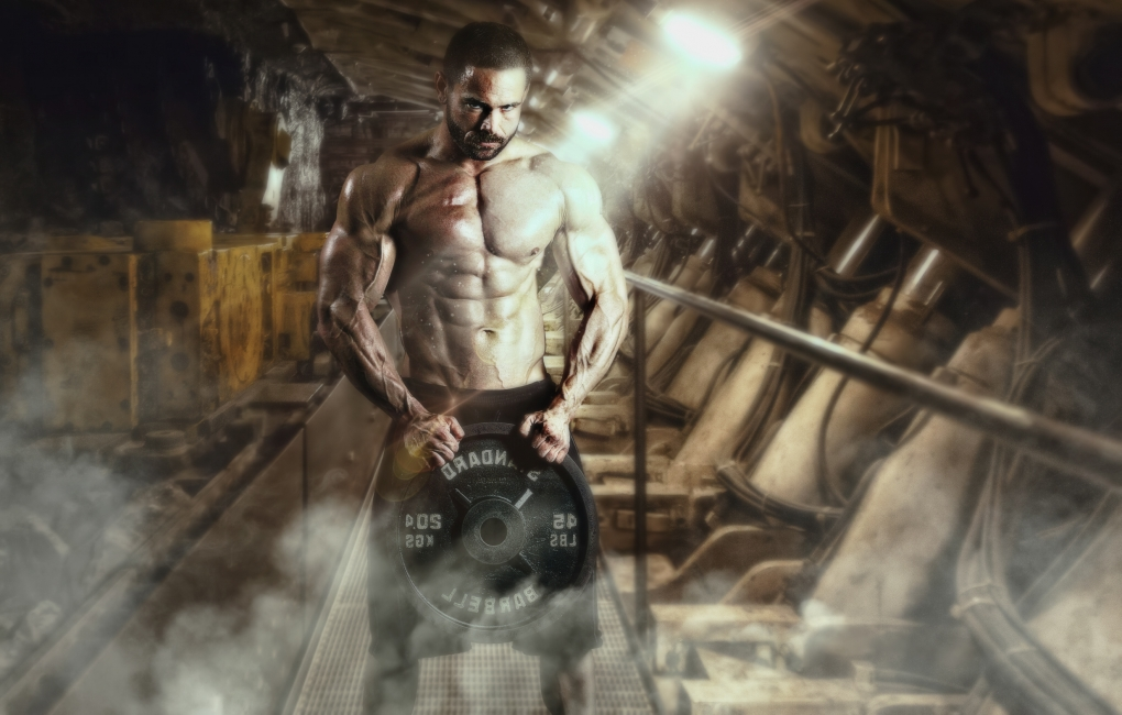 Photoshop compositie of Wil White. by Abdel Bentroudi