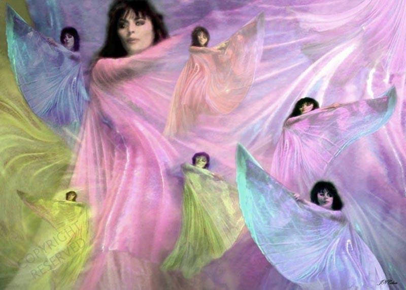 Dancing Silks by John Neville Cohen