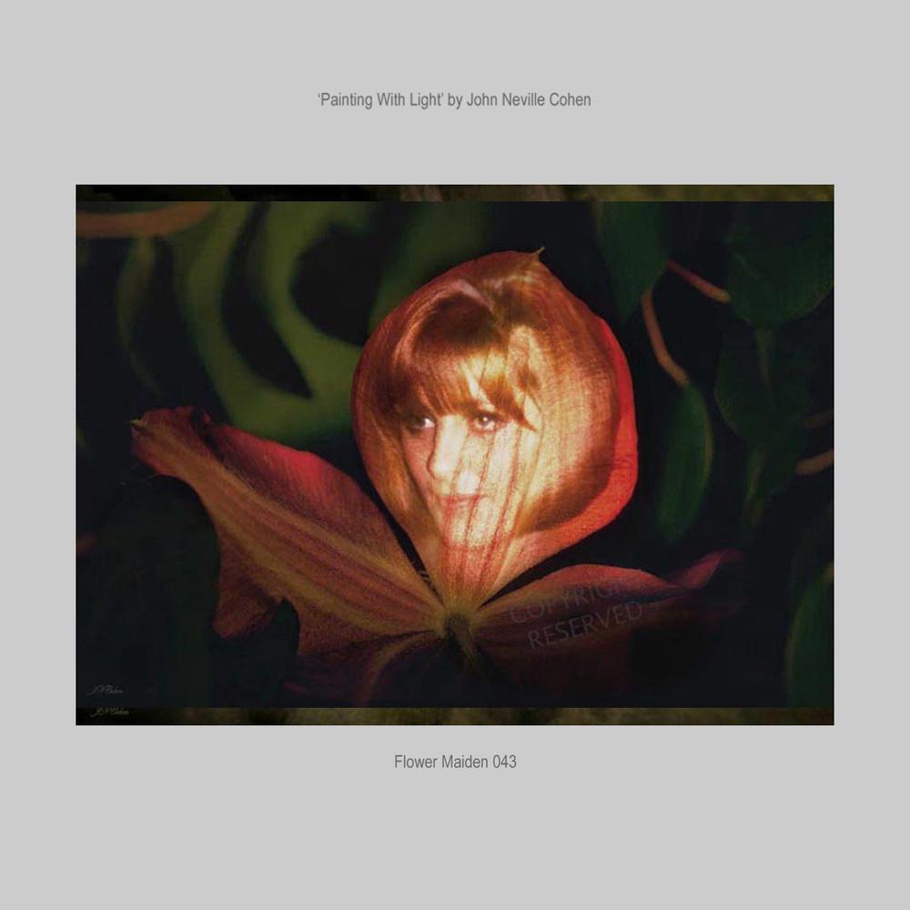 Flower Maiden by John Neville Cohen