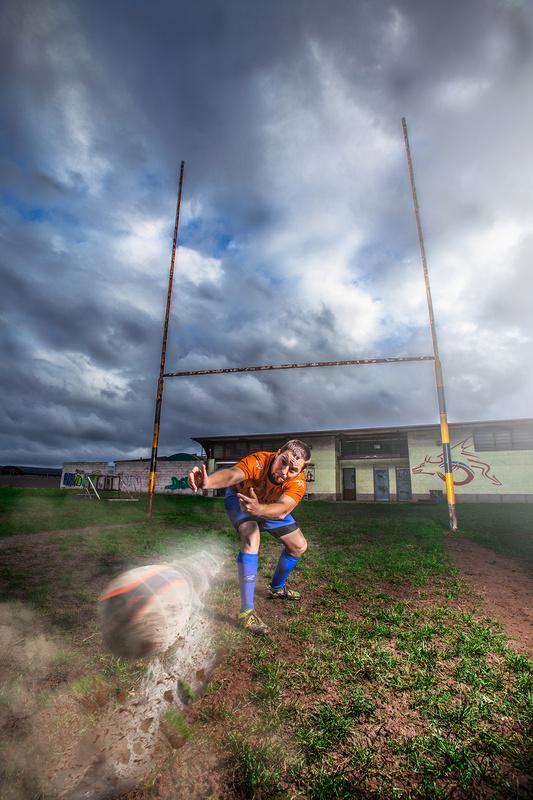 Rugby by Alex Sebastian