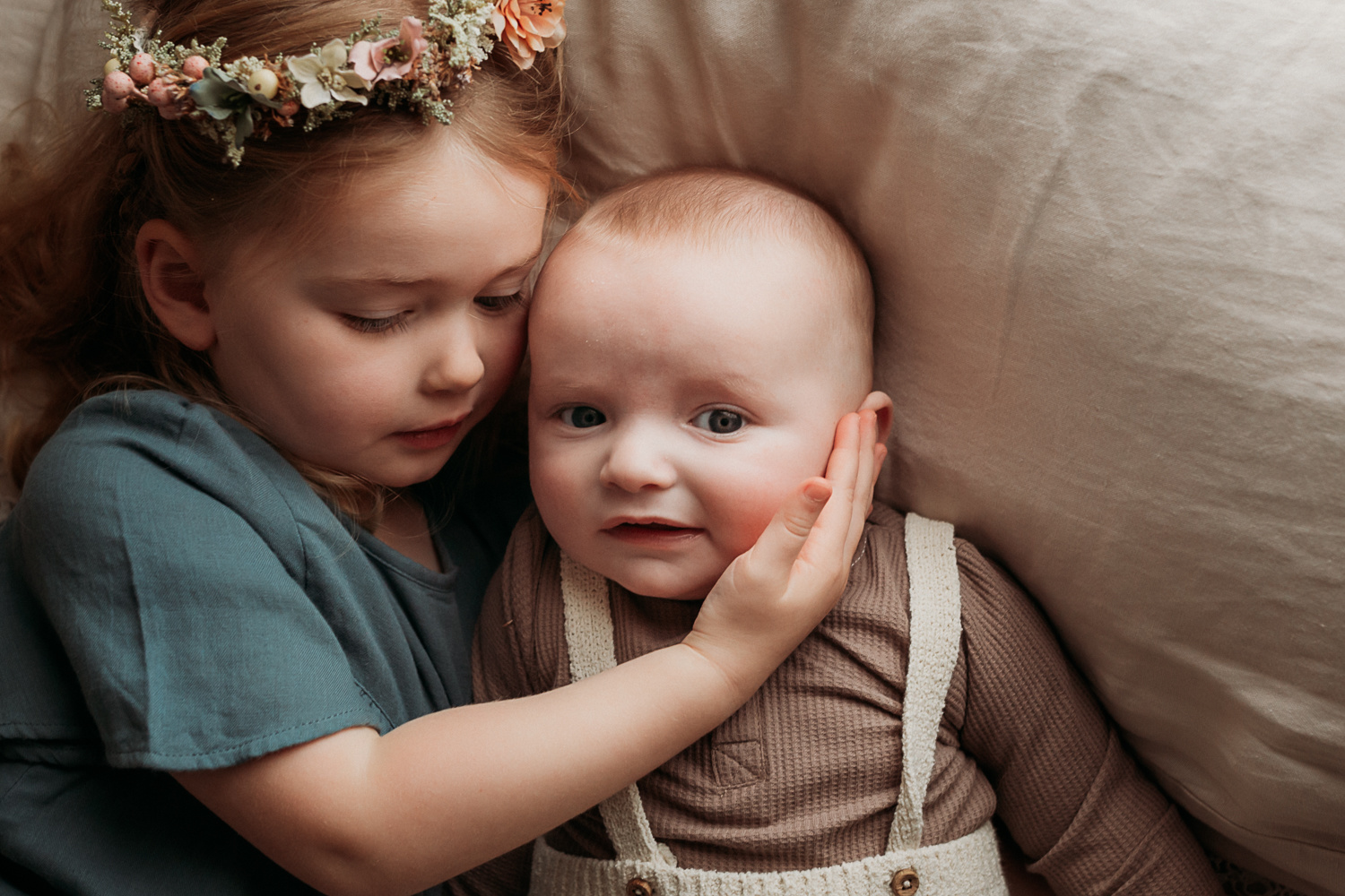 Siblings love by Michelle Coxall