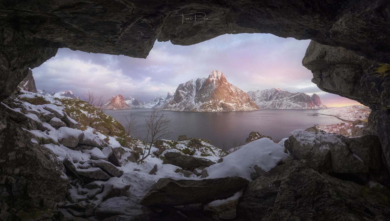 Hidden Cave by Toni Pou