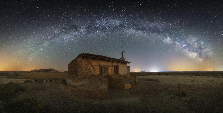 MilkyWay in Bardenas by Toni Pou