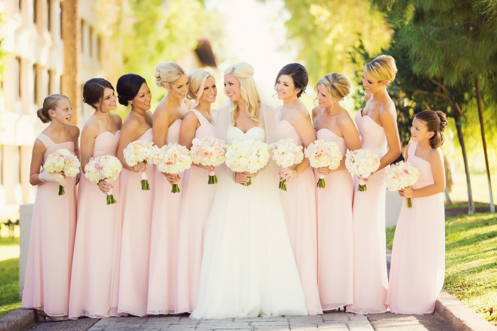 Gorgeous Bridal Party by Trevor Dayley