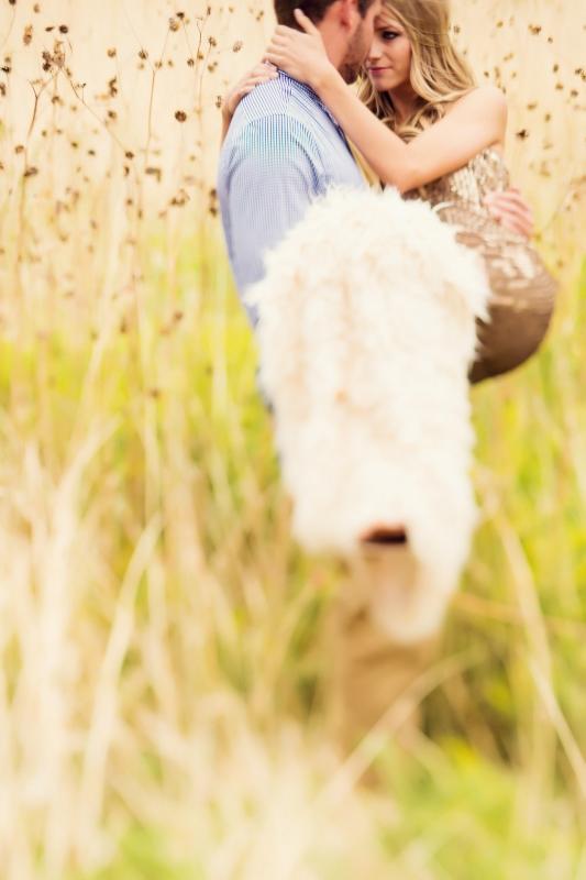 Walking through the Grass by Trevor Dayley