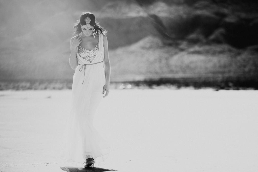 In the Desert by Trevor Dayley
