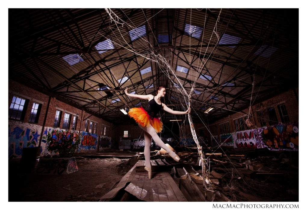 Ballet Warehouse by Mike Macdonald