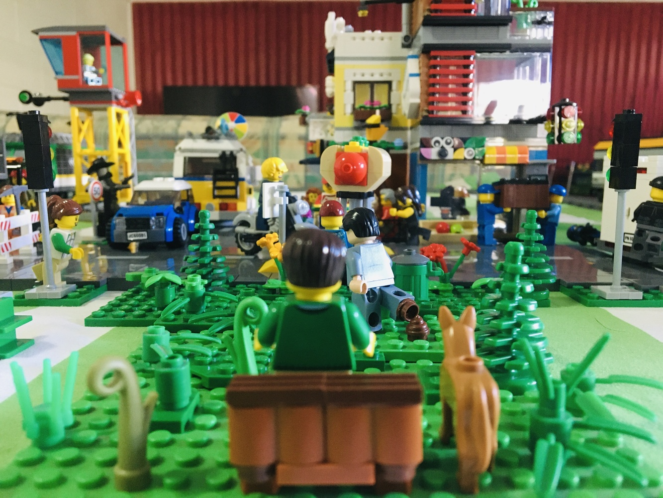 LEGO paradise by Lacey Art