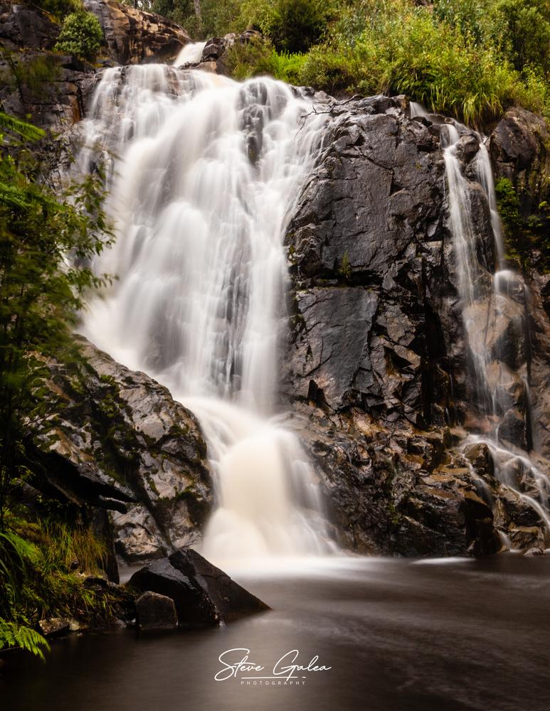 Steavenson Falls by Steve Galea