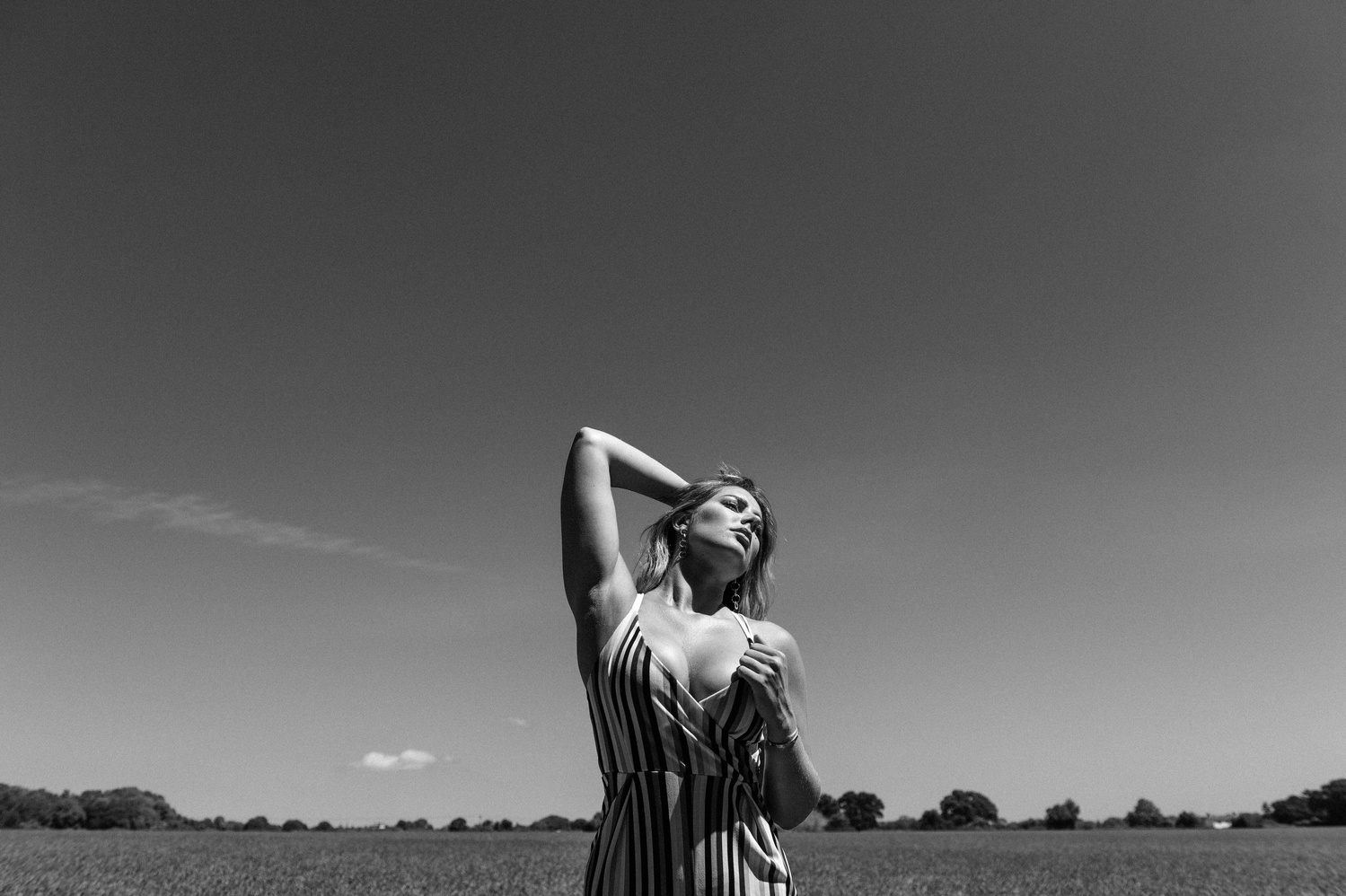 Lisa outdoors by James Bridle