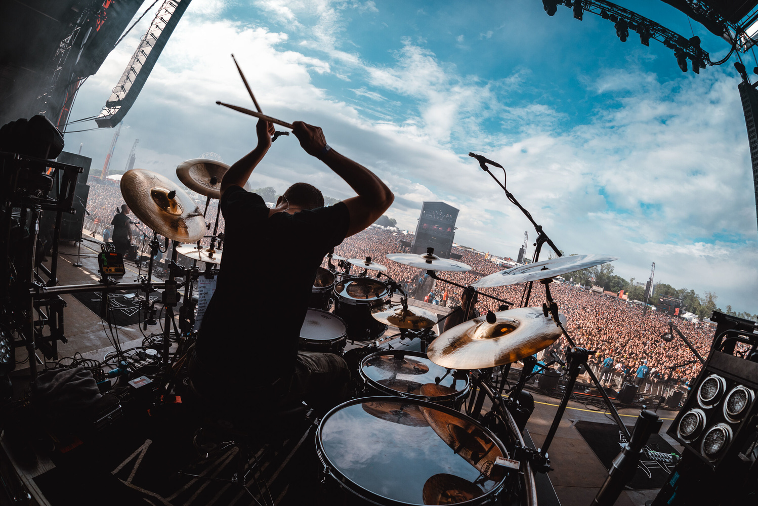 Trivium at Download Festival 2019 by James Bridle