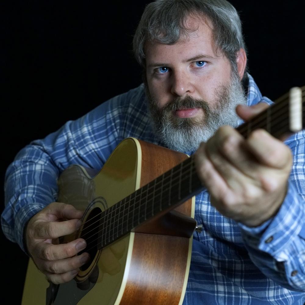 Guitar self Portrait by Dustin Jackson