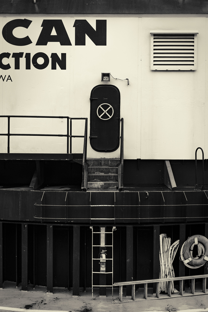 Access Hatch by Gary Horsfall