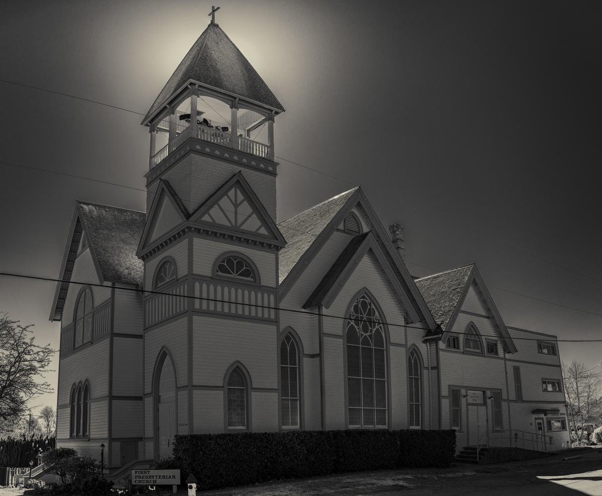 Church Glow by Gary Horsfall