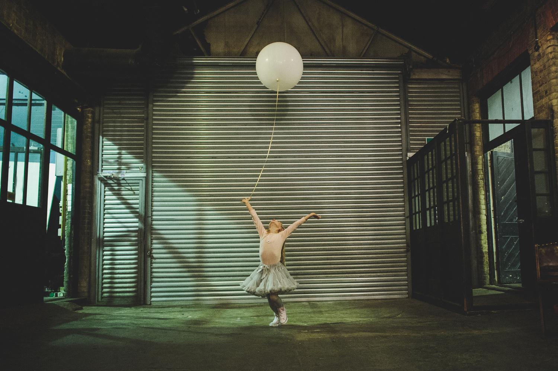 Ballon girl by Rik Pennington