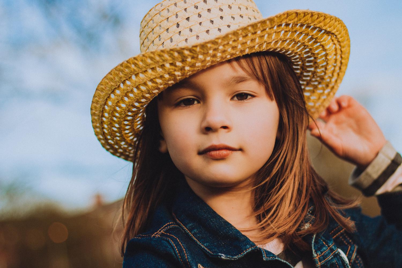 Child portrait by Phil Daley