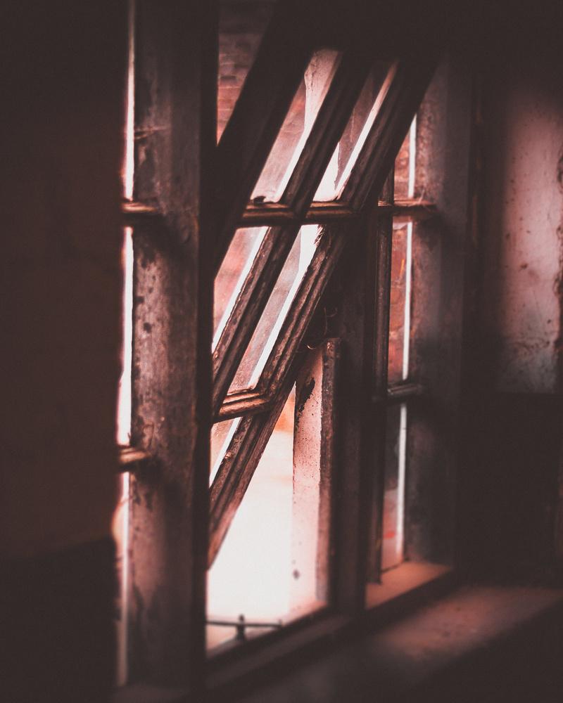 Farm window by Phil Daley
