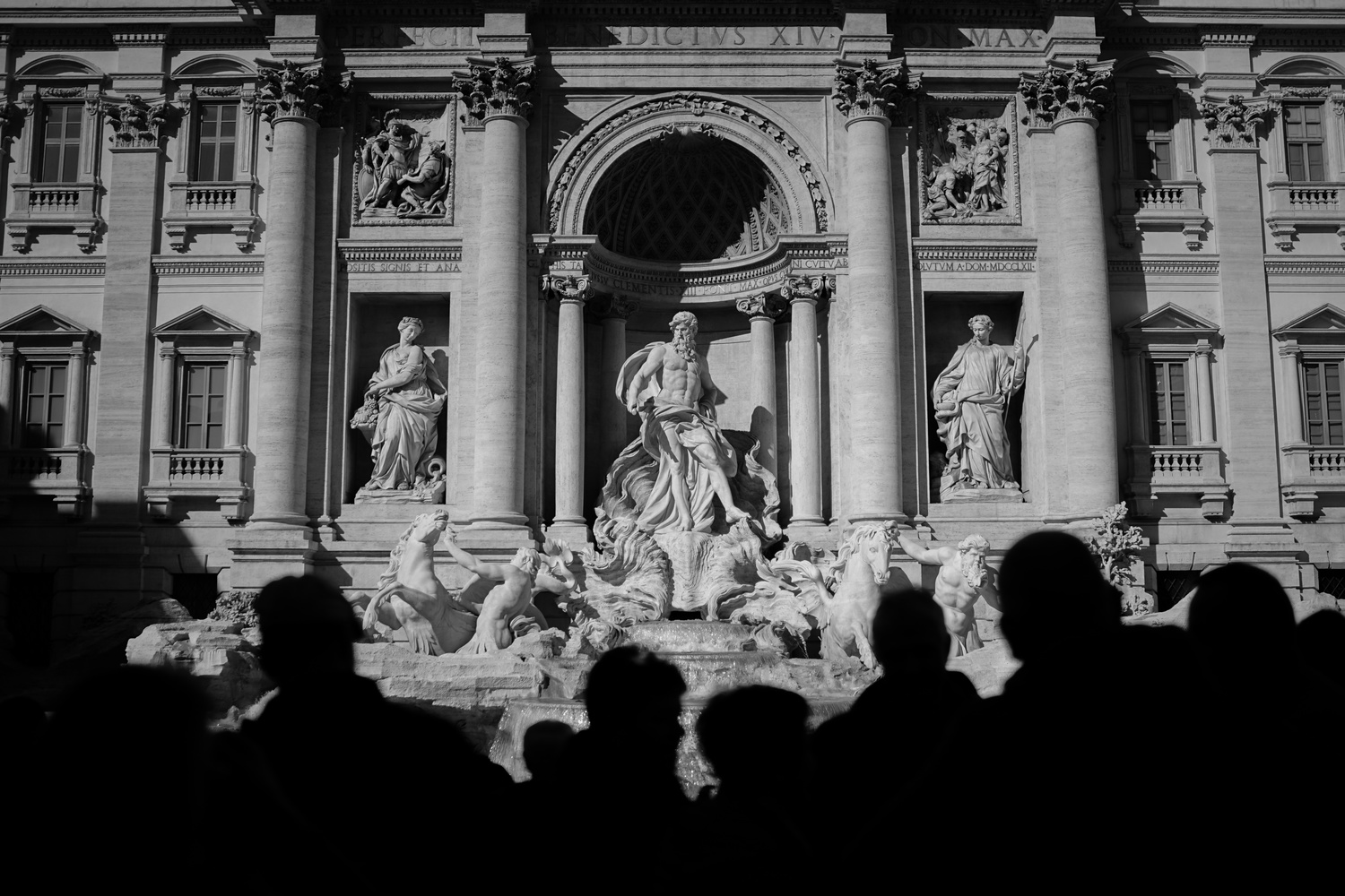 Trevi fountain by michael king