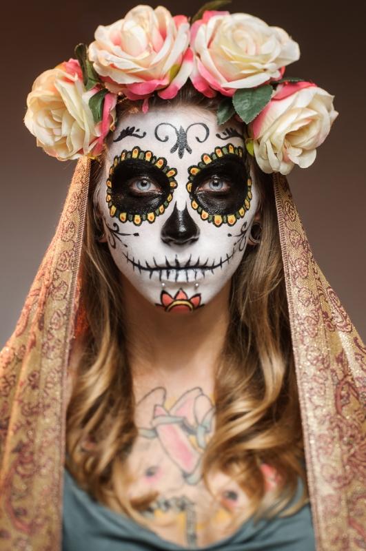 Candy Skull by Jacek Woźniak