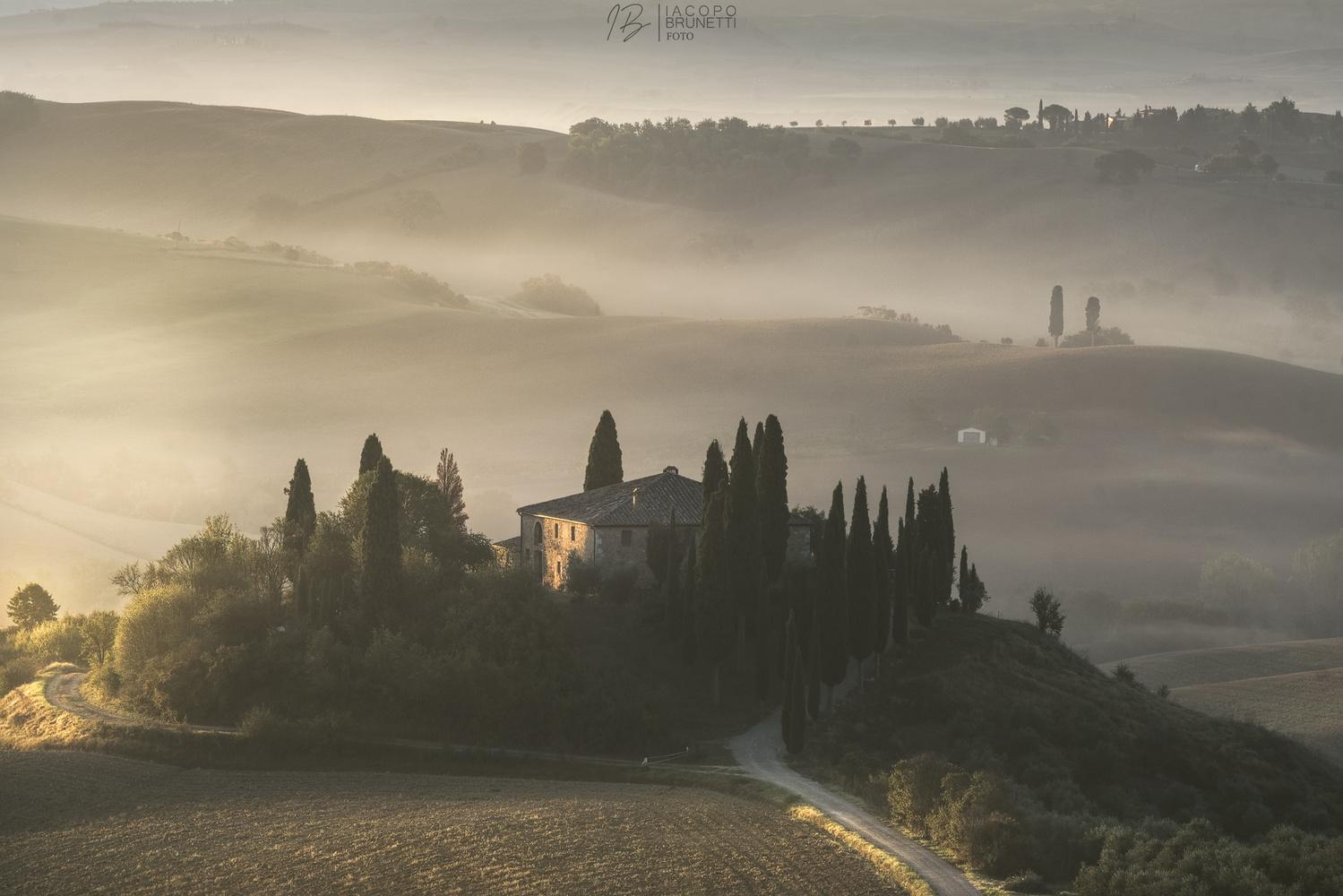 Foggy Sunrise by Iacopo Brunetti