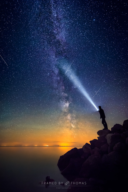 Look beyond the stars by Thomas Mørkeberg