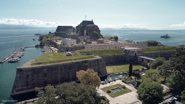 corfu old fortress by Spyros Mouzakitis