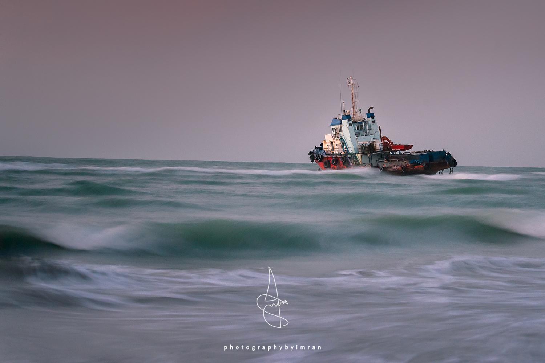 Sharjah Shipwreck by Imran Mirza