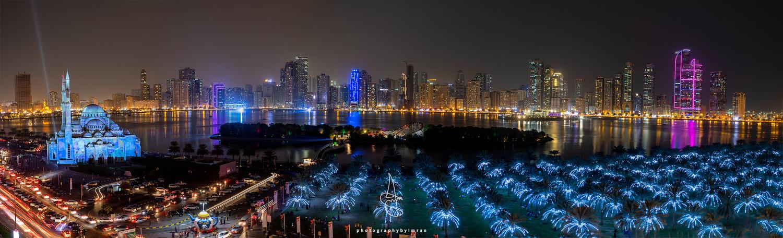 Buhaira Corniche, Sharjah UAE by Imran Mirza