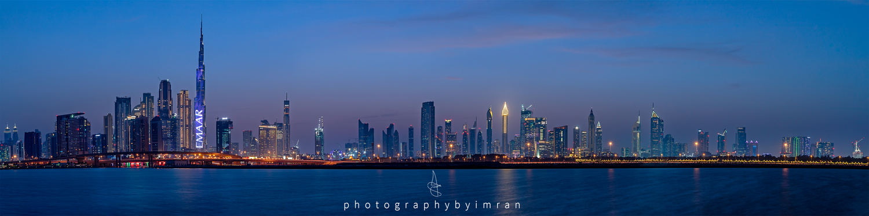 Dubai Skyline by Imran Mirza