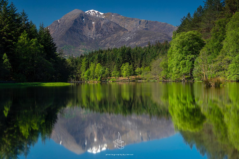 Beinn a Bheithir Reflection. by Imran Mirza